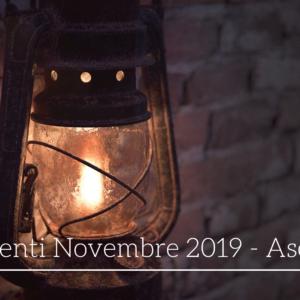 Eventi ad Asolo nel mese di Novembre 2019