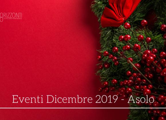 Eventi ad Asolo nel mese di Dicembre 2019
